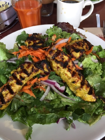 Bangkok Thai Chicken Salad - #Awesome