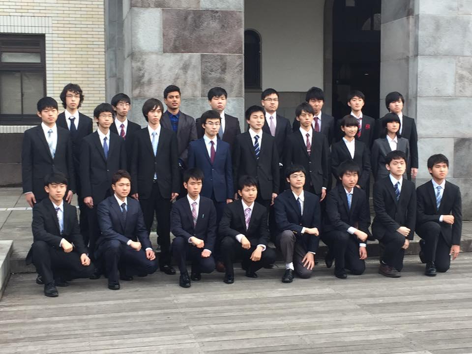 Karthik at Tokyo Institute of Technology Entrance Ceremony.jpg