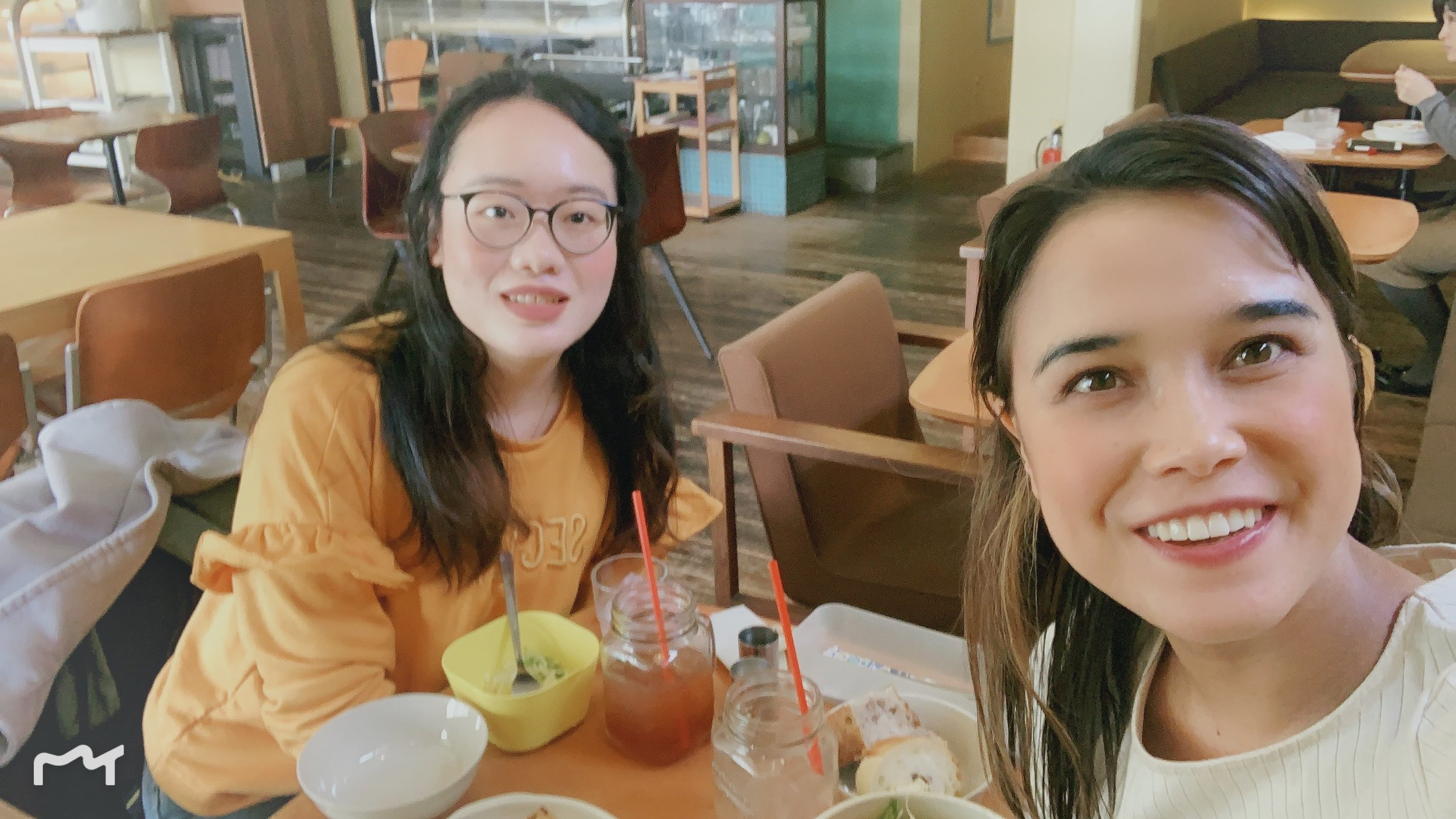 Lunch with a Chinese Student.JPG