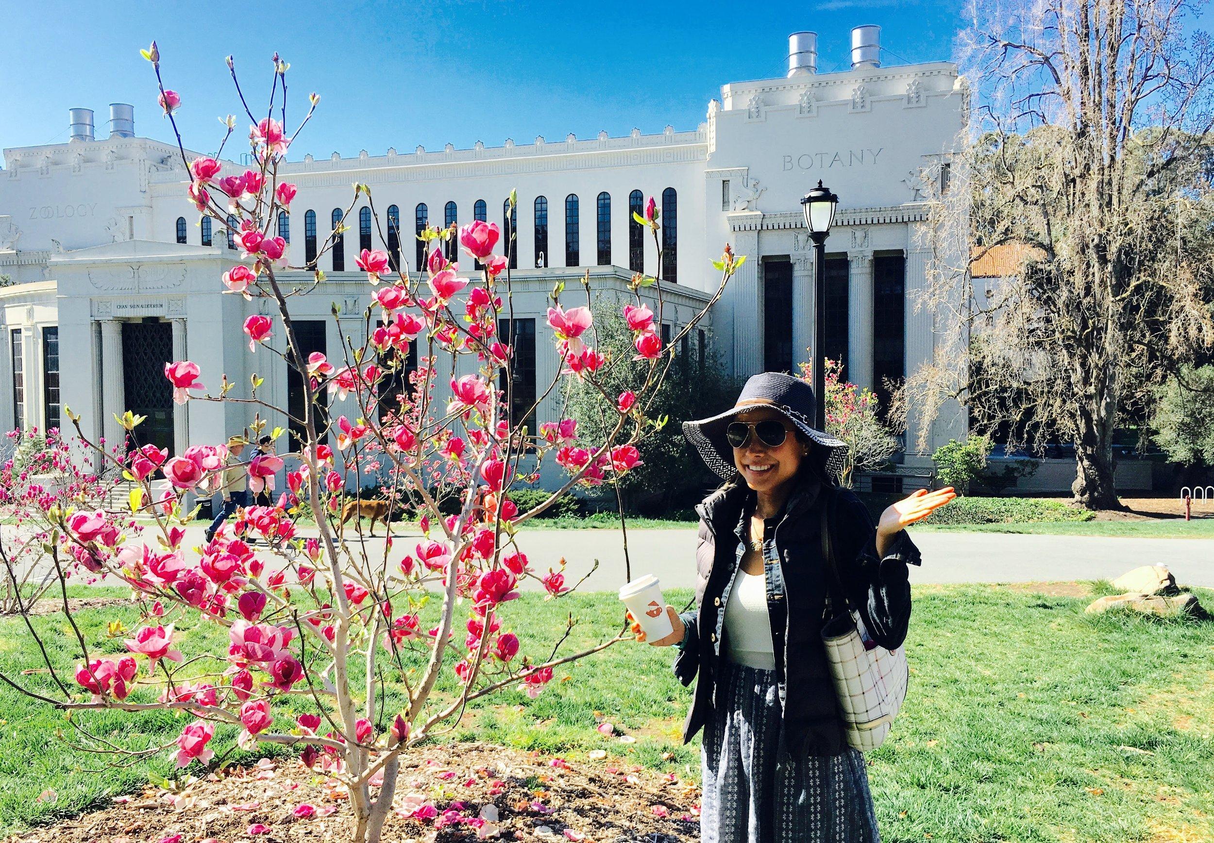 Post-Graduation I Roaming Around the Gorgeous UC Berkeley Campus