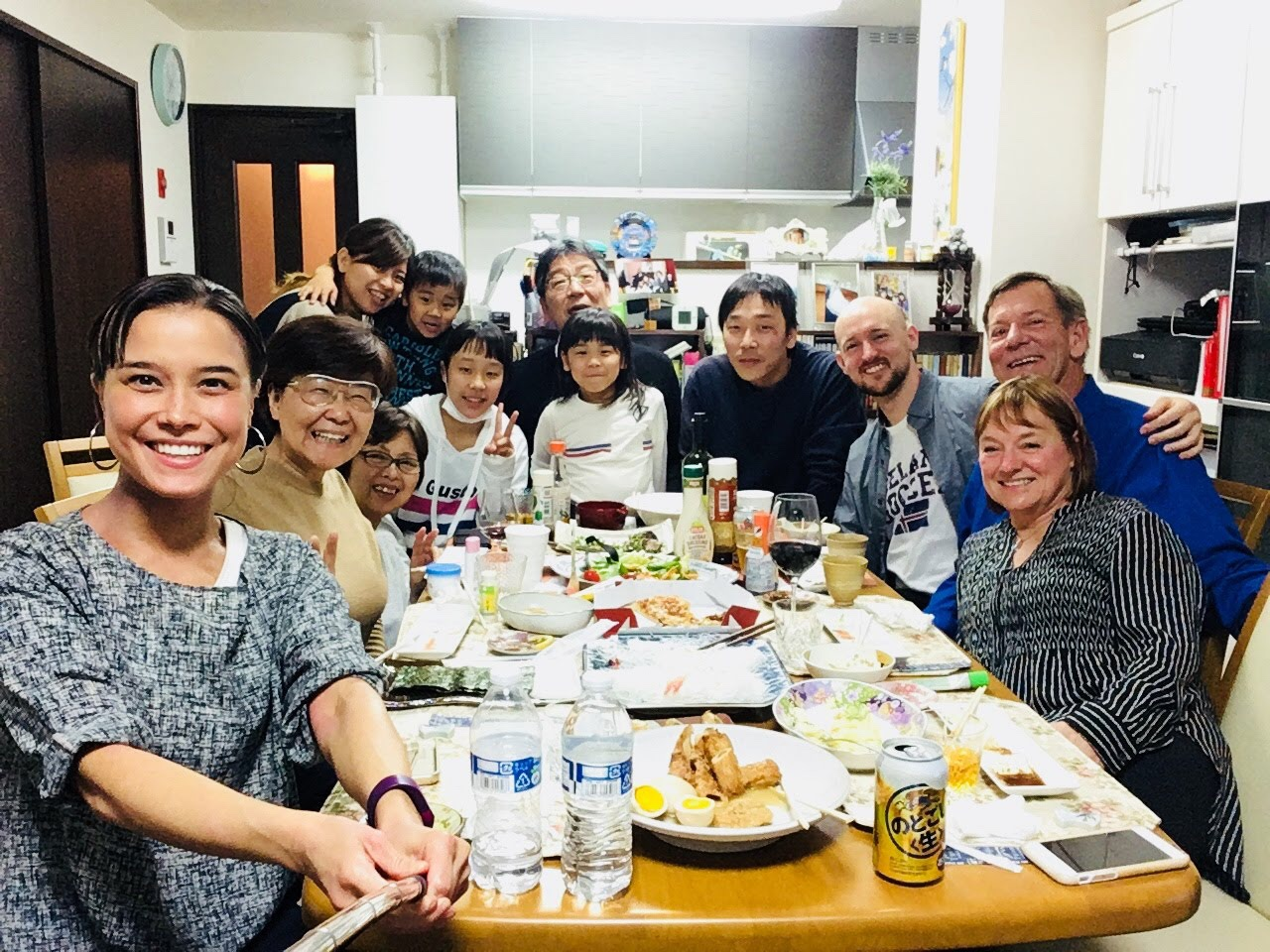 Enjoying a Gluten-Free Diet in Japan with my Japanese Family and San Francisco Friends and Family