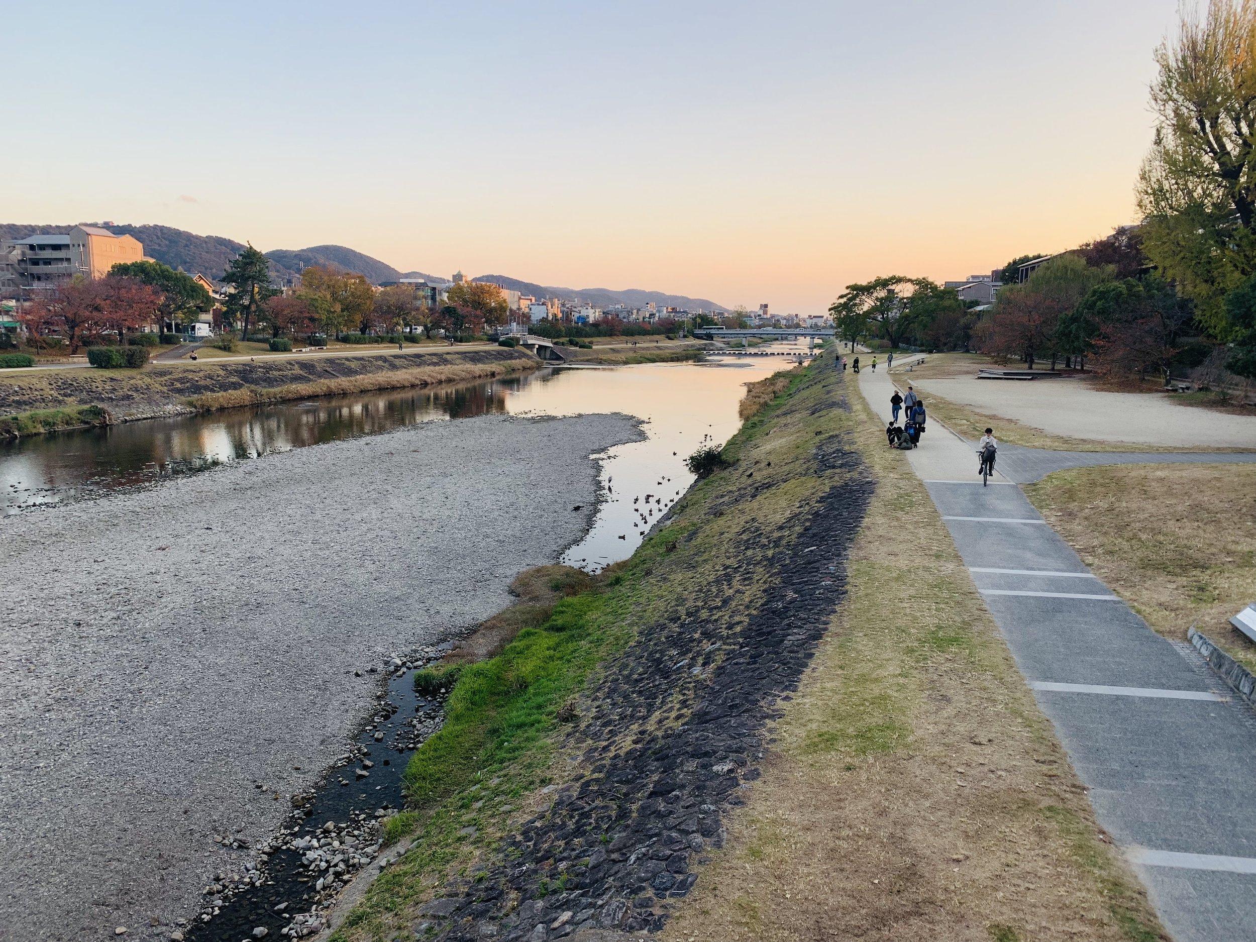 Kamogawa at Sunset.jpg