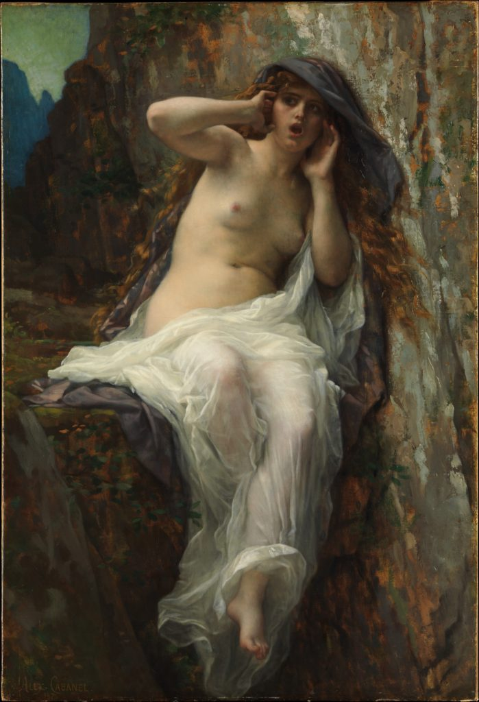Echo by Alexandre Cabanel -