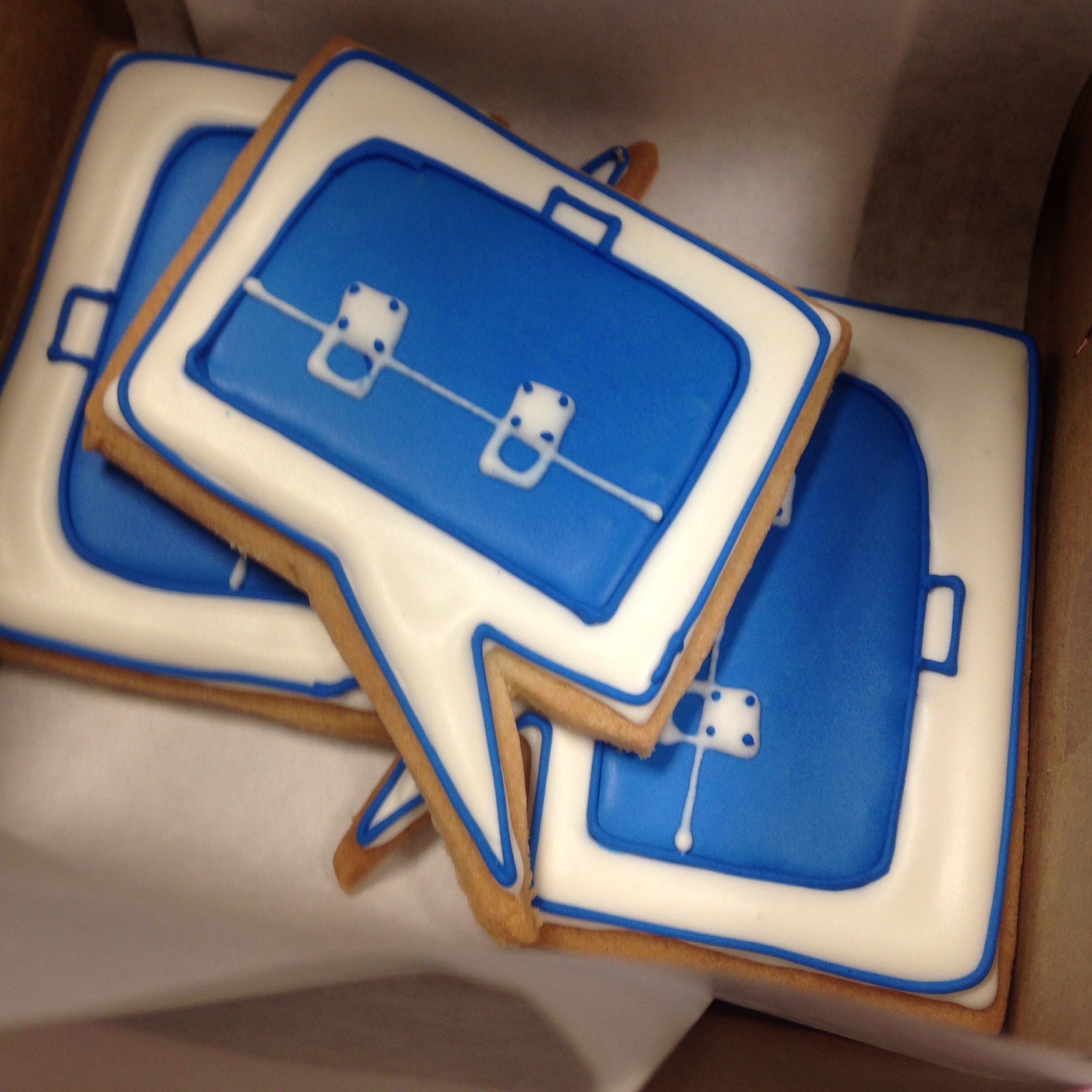 Business Logo Cookies