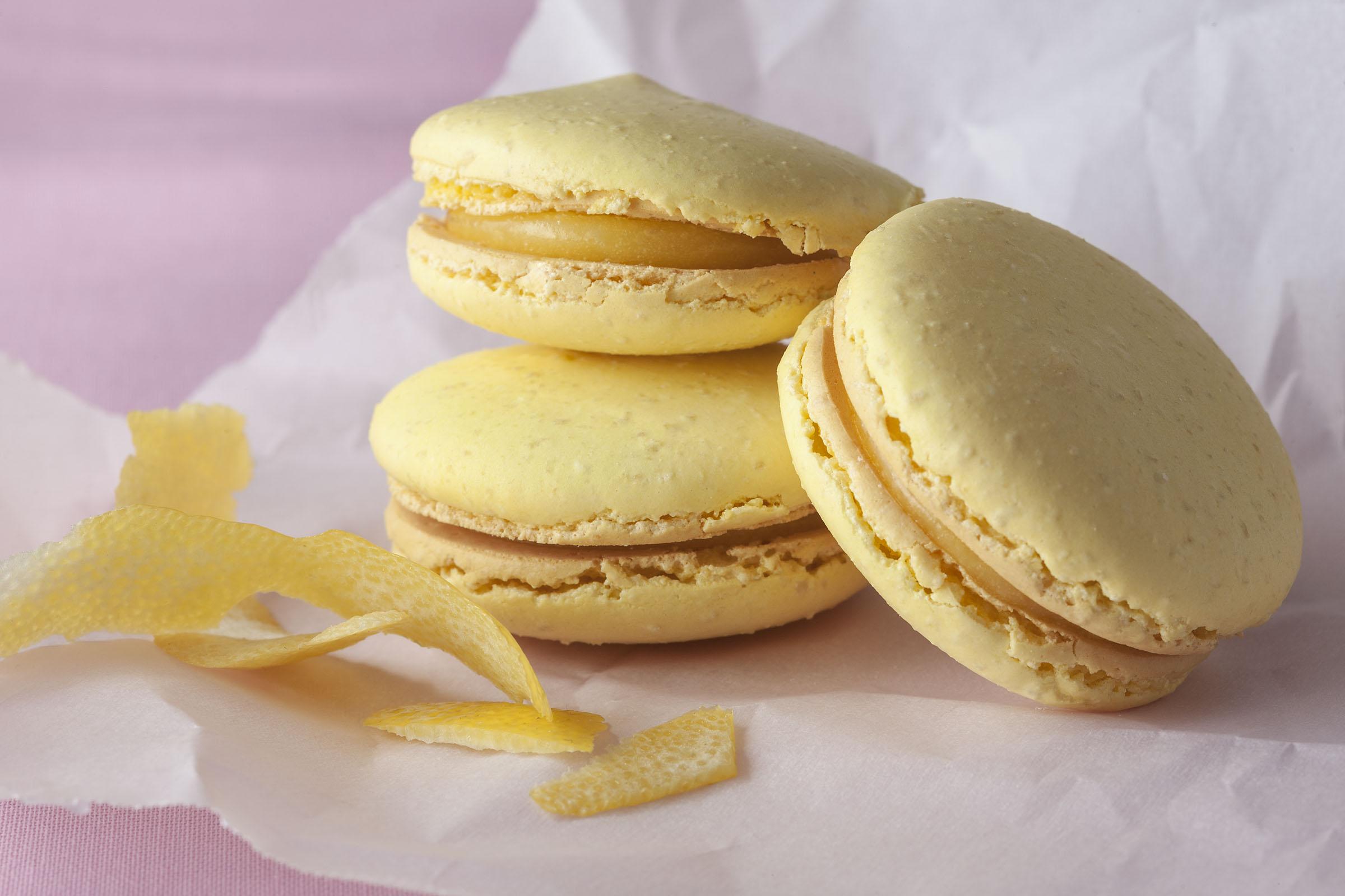 Lemon French Macaron