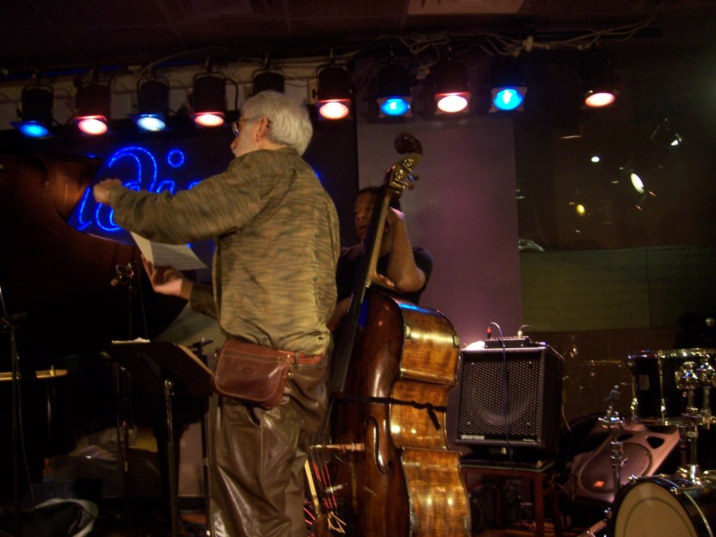 Denny Zeitlin and Buster Williams in rehearsal Iridium NYC.jpg