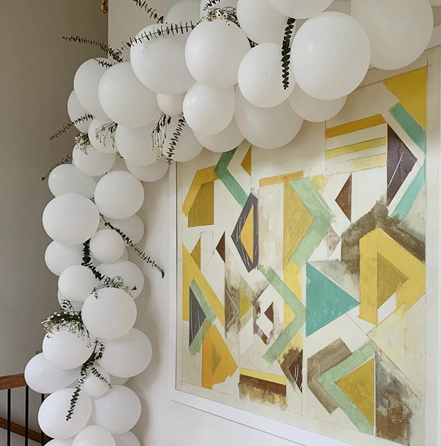 It's amazing what you can do with some string and balloons!