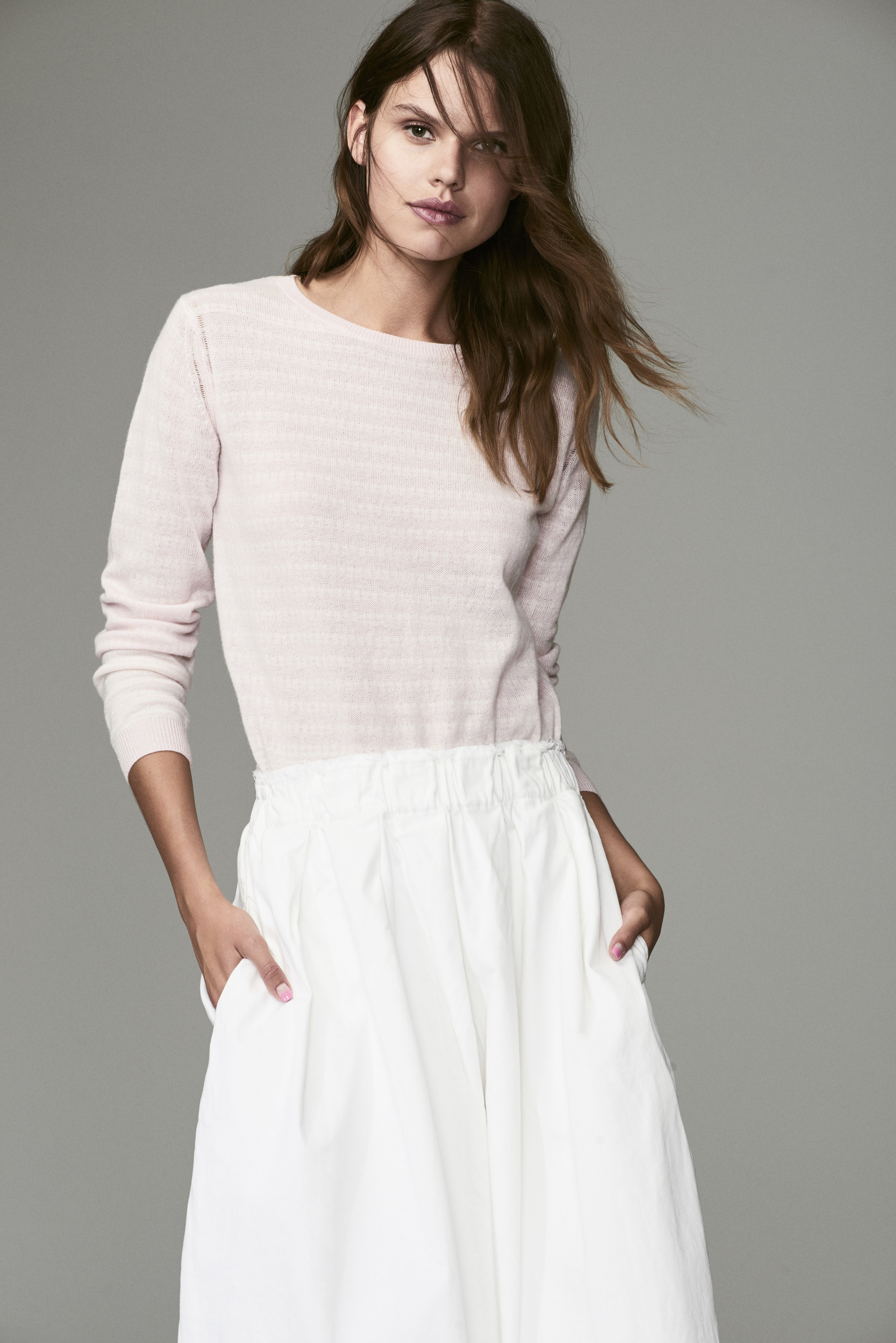 OUR PINK LEMONAID EXCLUSIVE KNIT SWEATER PROVIDES PRETTY AND PRACTICAL STYLE; CONFIDENTLY WORKING ITS WAY IN TO YOUR OFFICE WARDROBE. CLICK FOR DETAILS.