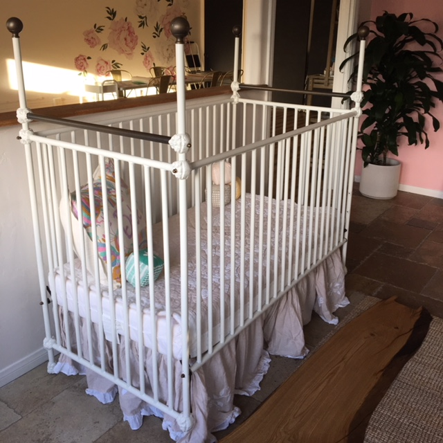 Benicia Baby Crib / WAS $349, NOW ONLY $244!!!