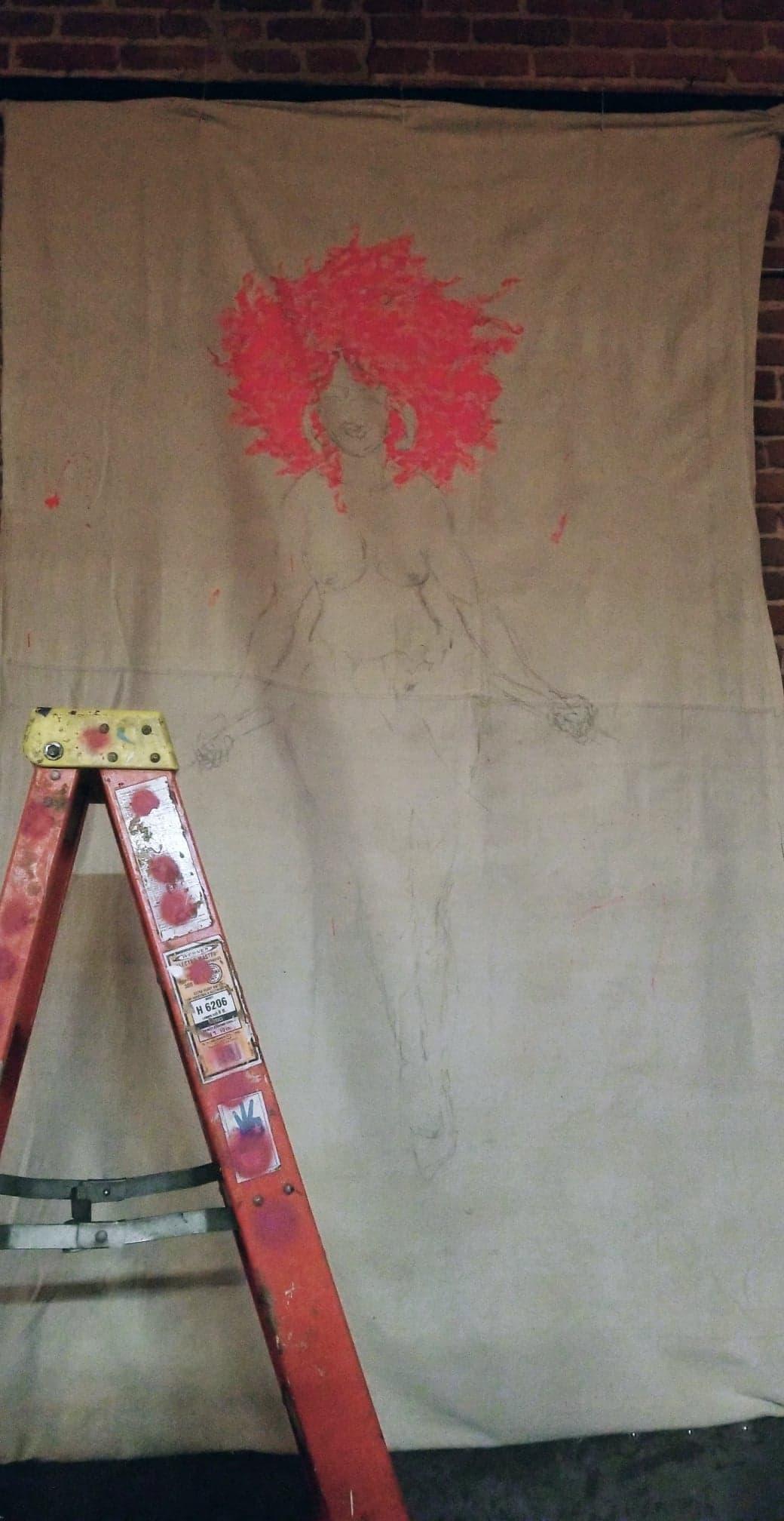 4 Live Painting In Progress By Lajon Miller.jpg
