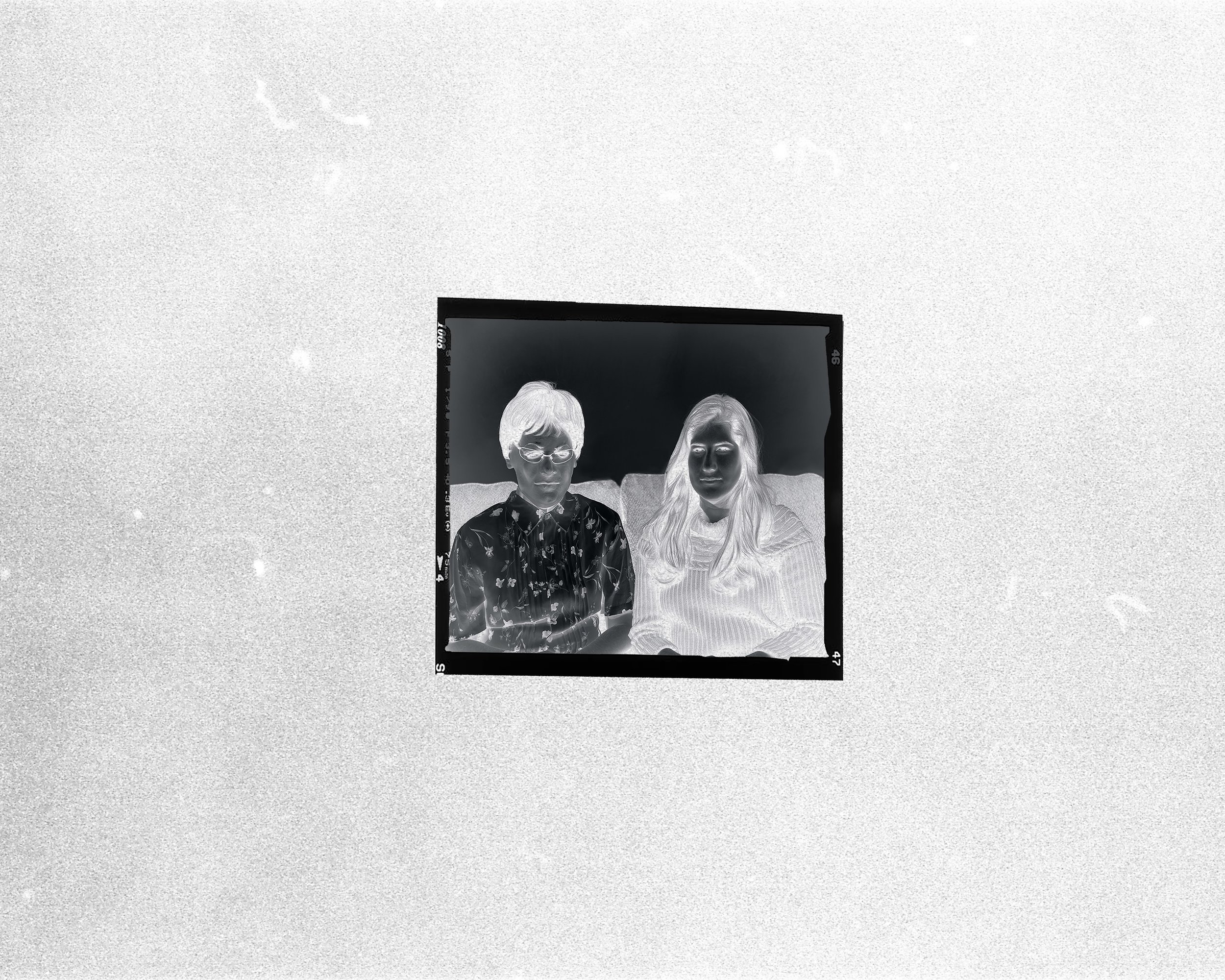 Negative of Sara and Mina, early 1980s, Kishinev.jpg