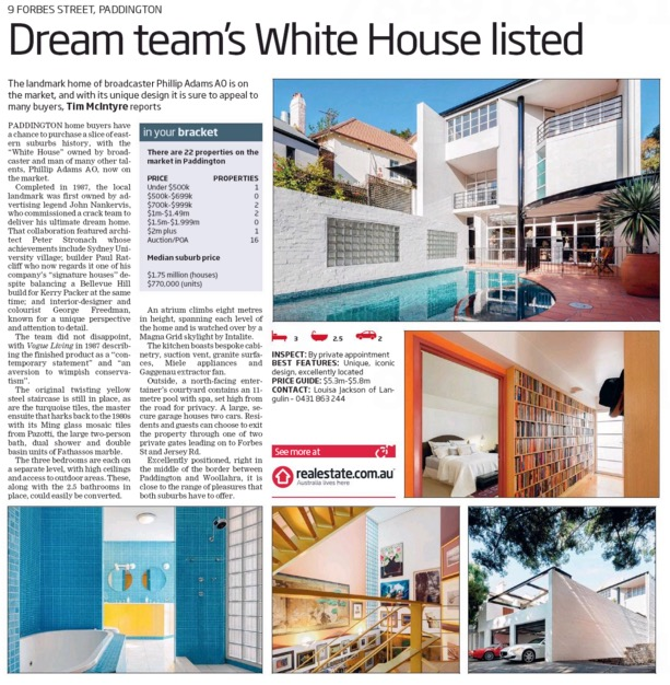 Wentworth Courier - House of The Week
