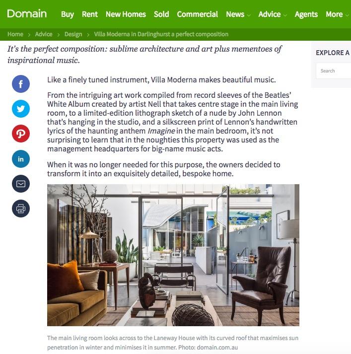 Domain Homepage