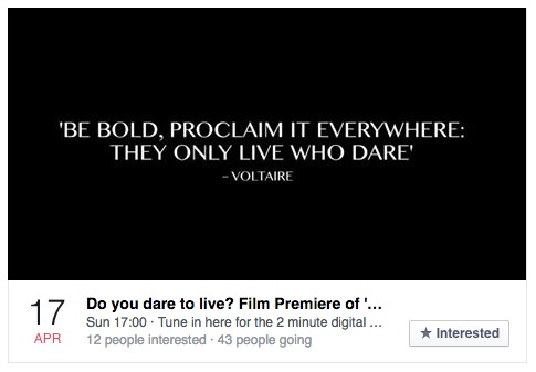 Facebook Video Premiere