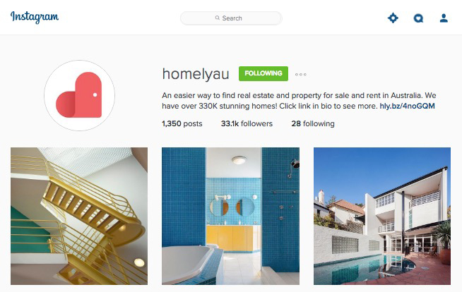 Instagram - Homely Feature