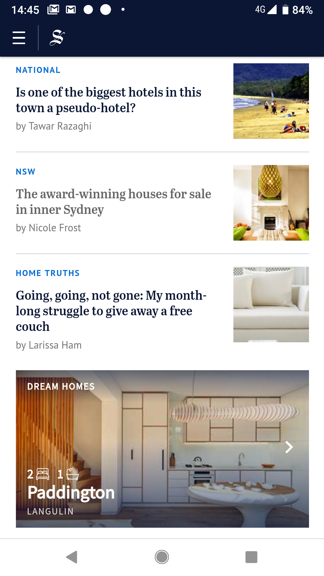 Homepage: SMH | Nine | Domain - Dreamhomes