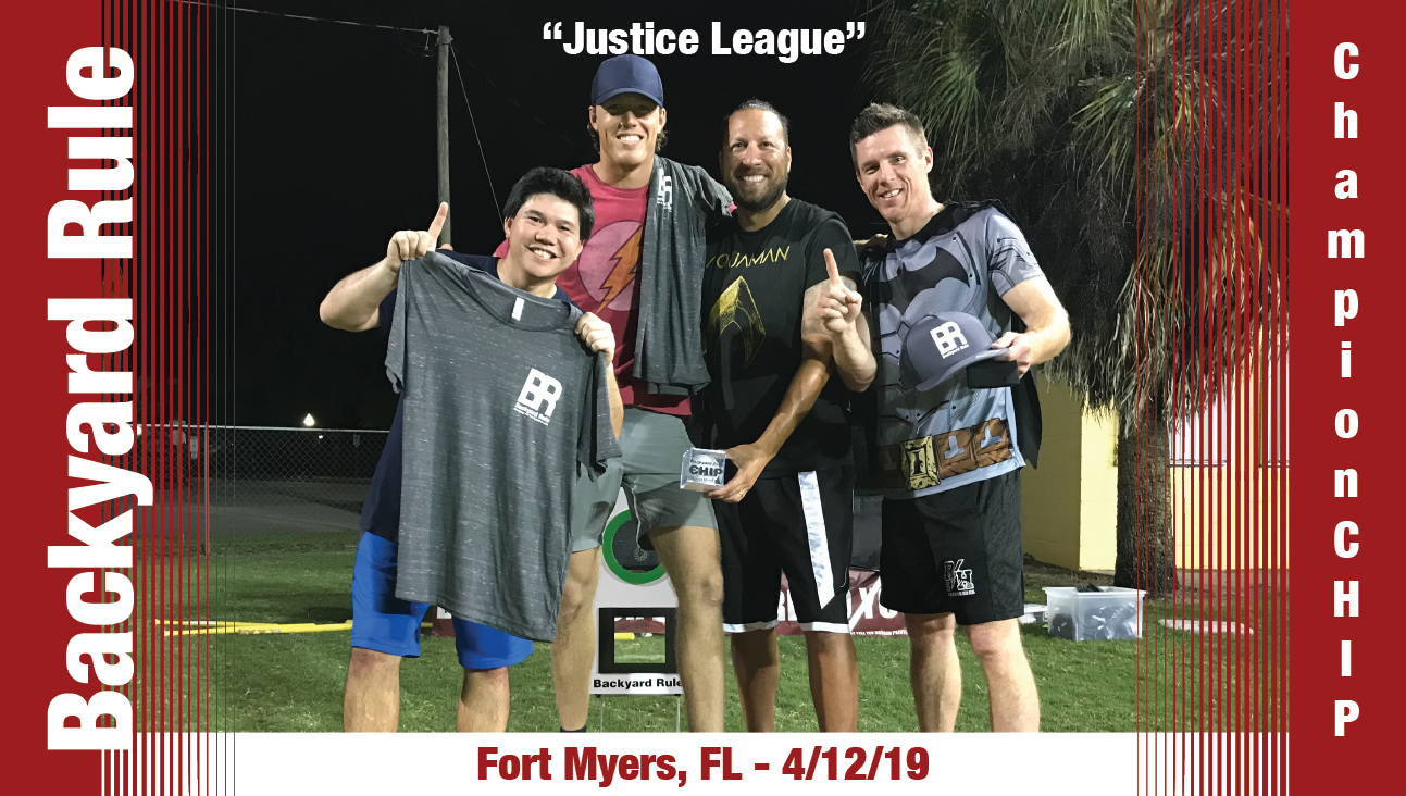 Justice League take the ChampionCHIP in Ft. Myers on Friday, April 12 2019