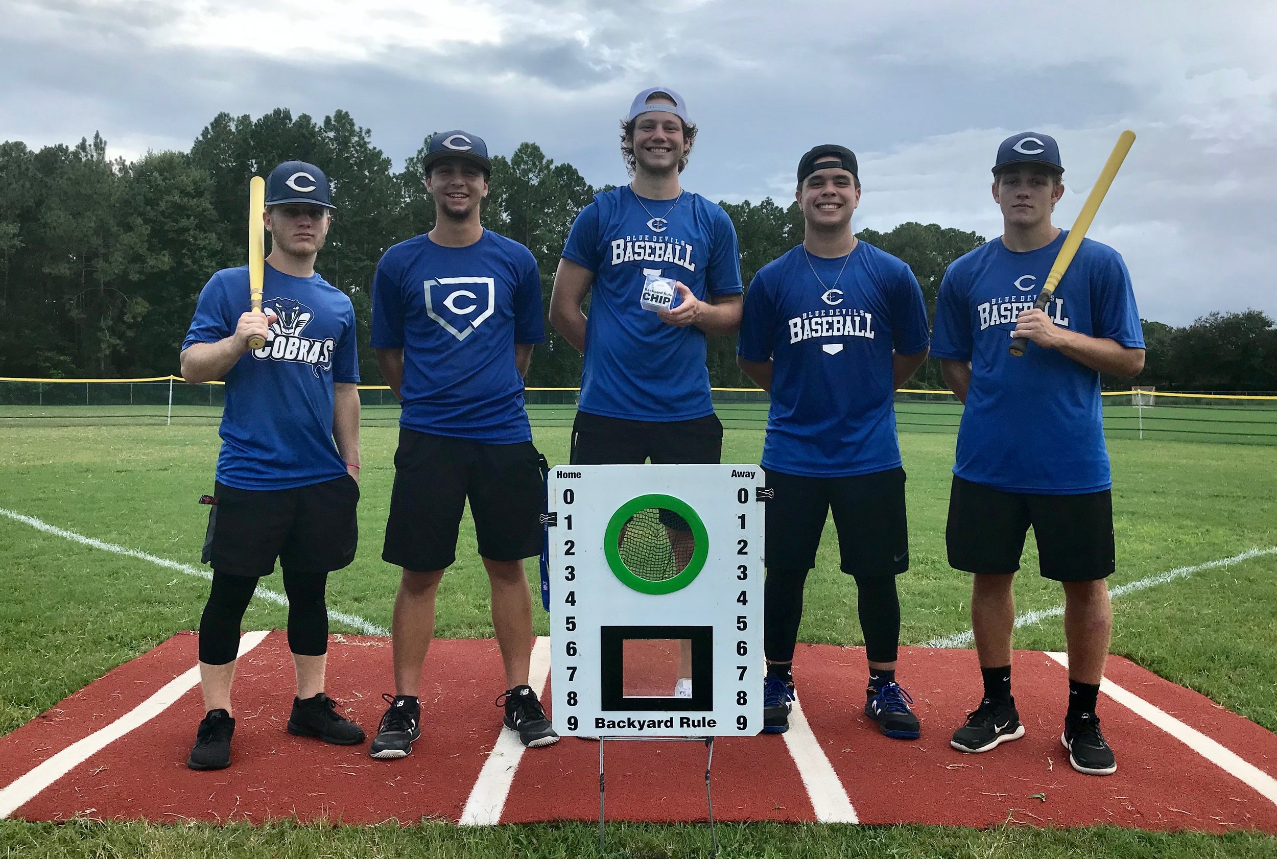 "The Fleming Island, FL defending CHAMPS are ""Blue Ballers"""
