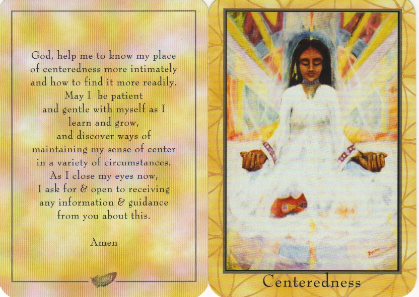 From the PrayerCards oracle deck by Beth Budesheim