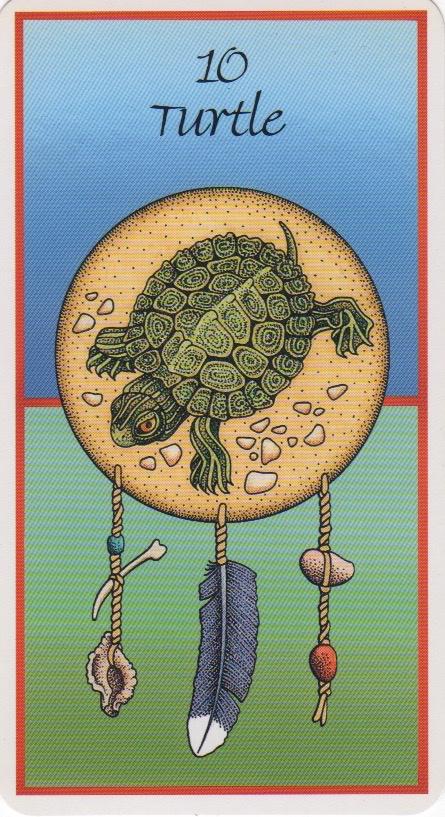 Turtle-from Medicine Cards by Jamie Sams, David Carson & Angela Werneke