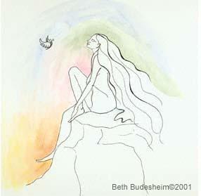 """""""Rainbow Breeze"""" by Beth Budesheim"""