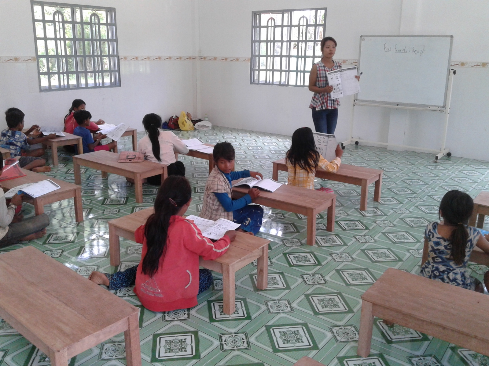 Providing Christian School Education to Remote Villages