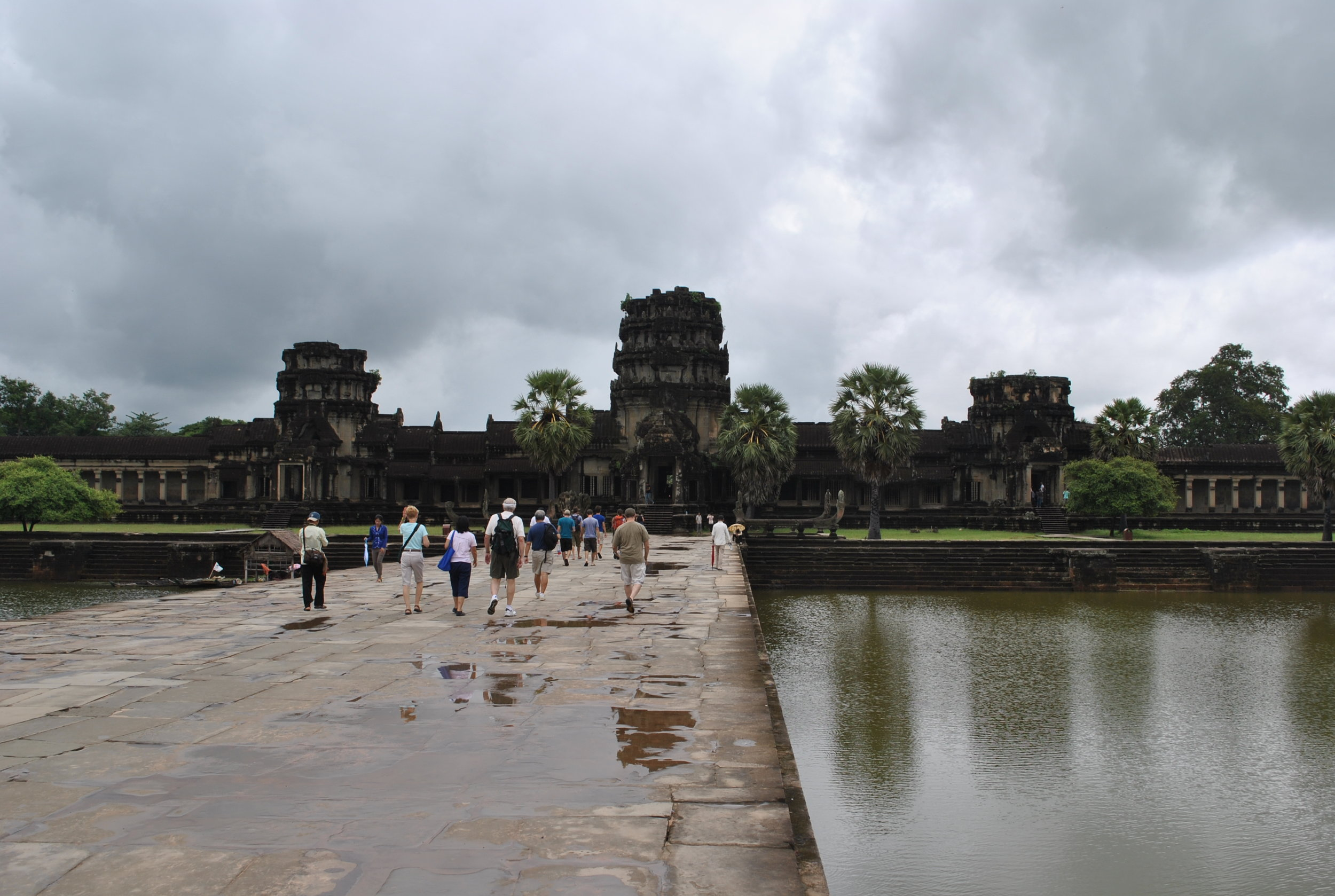 Harmony Mission Team Visiting Historic Angkor Wat Temple