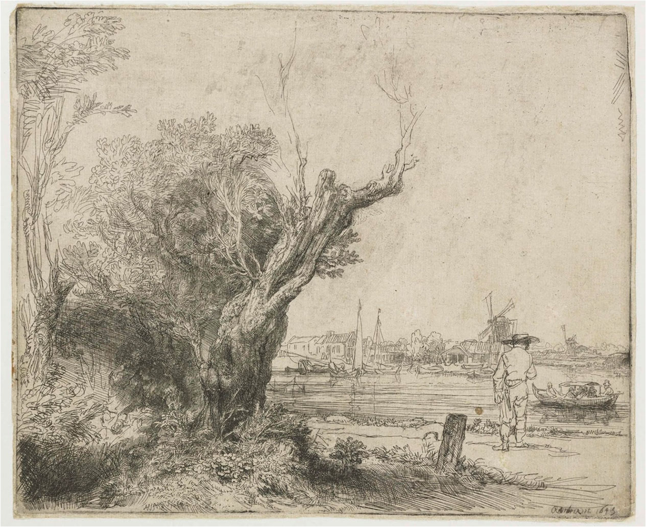Rembrandt - The Omval