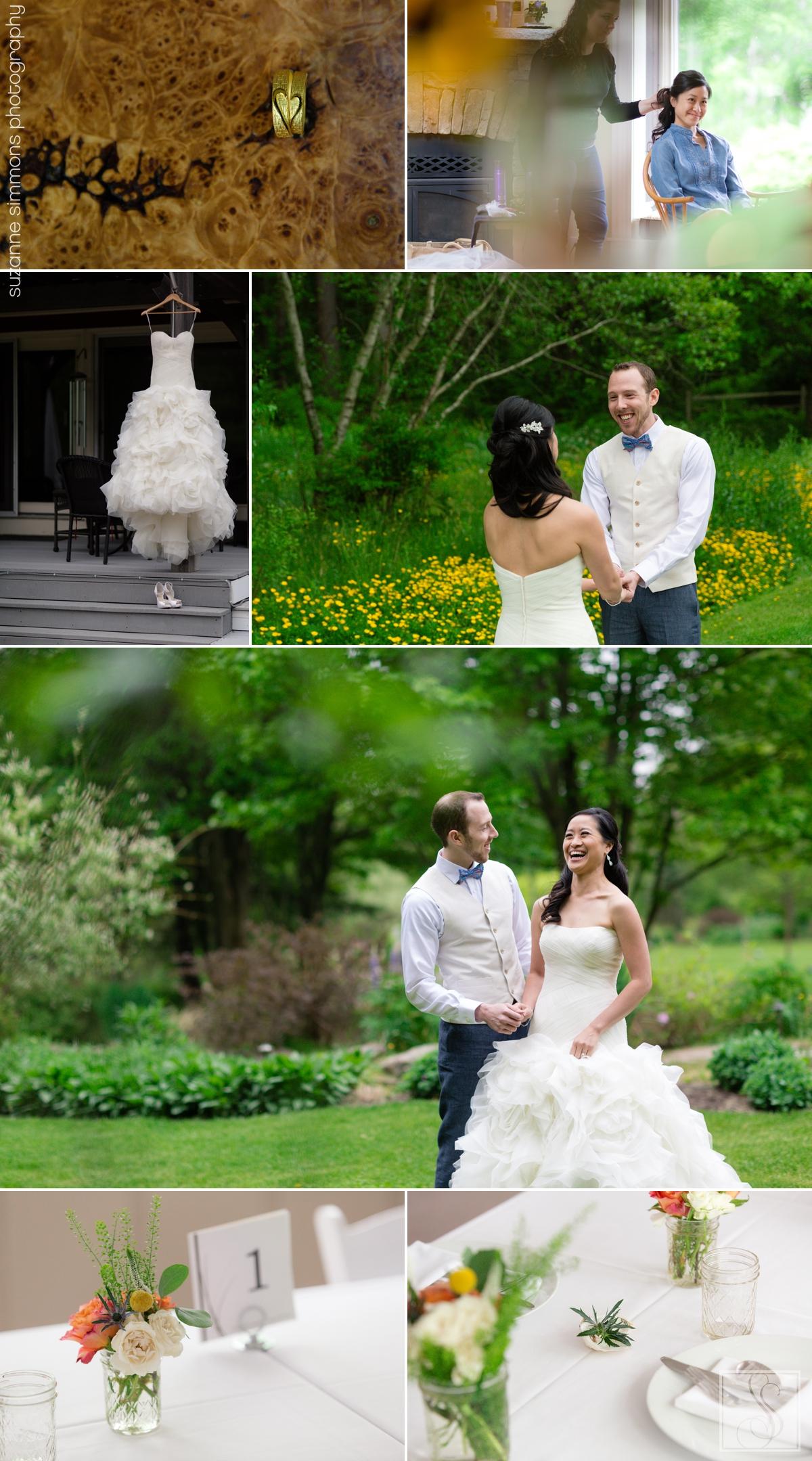 Hidden Meadows Farm Wedding Eliot Maine