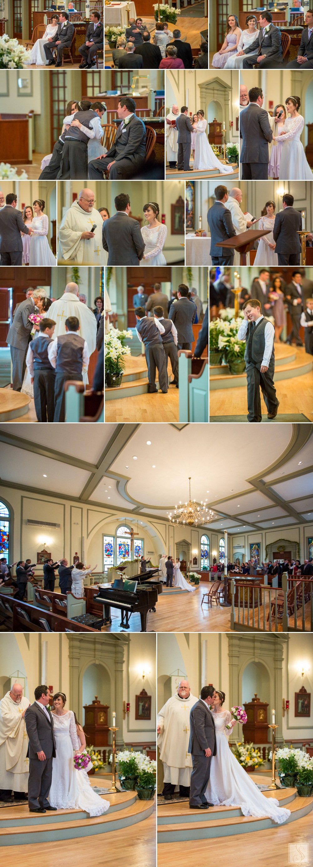 Holy Family Parish Church wedding