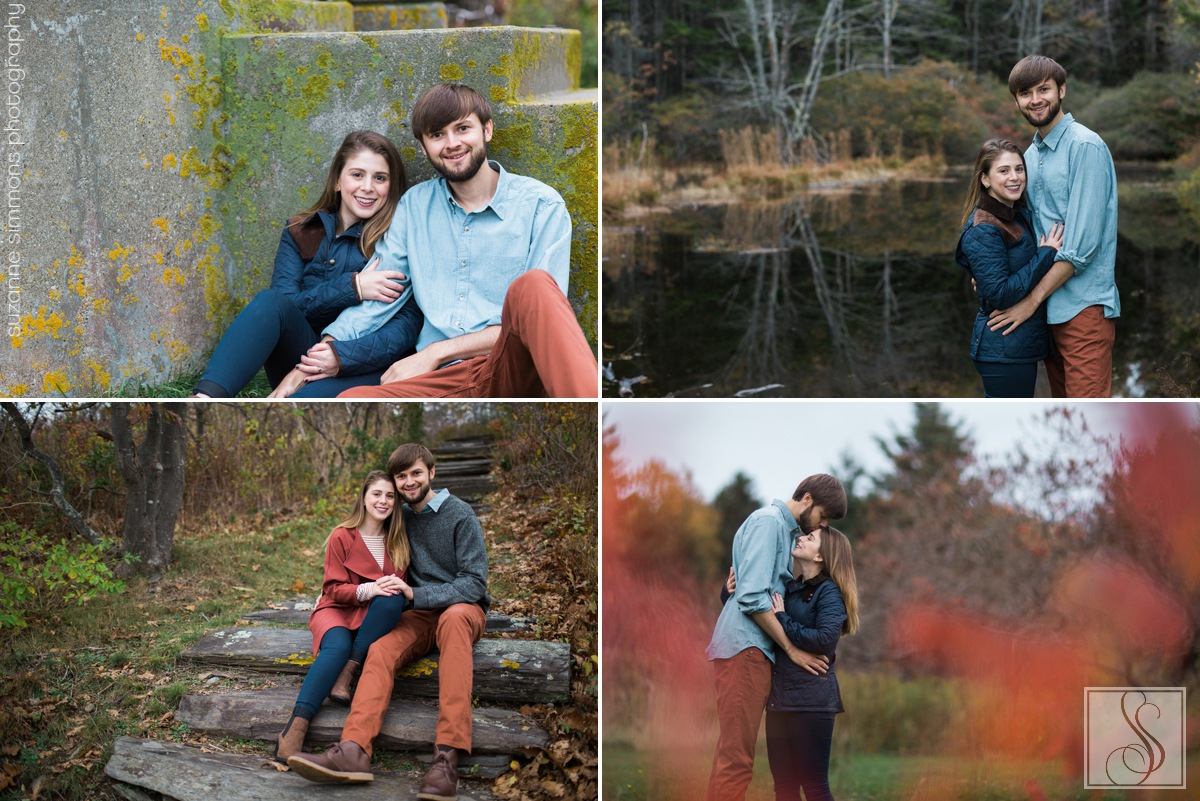 Two Lights State Park Engagement Portraits