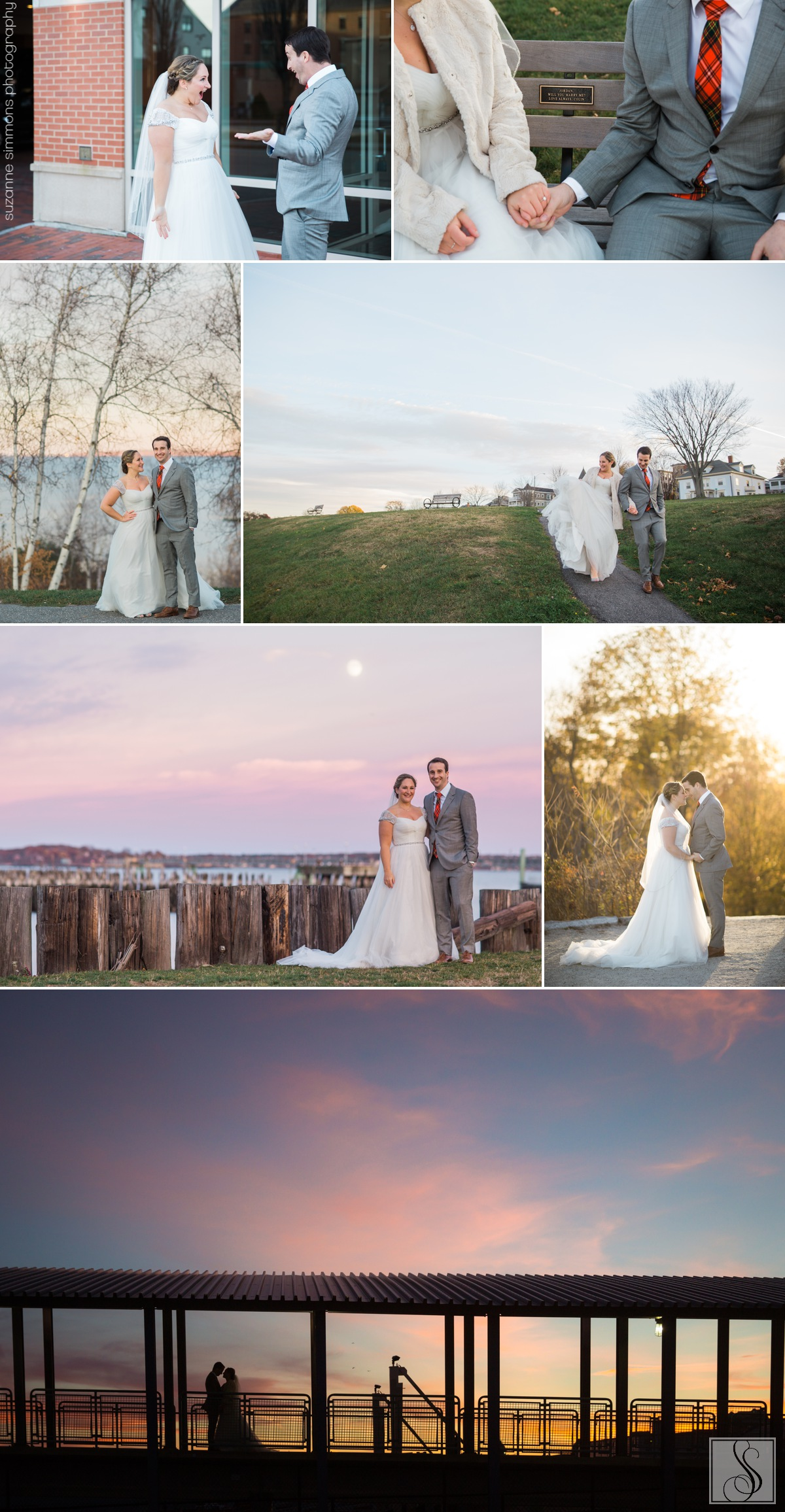 Ocean Gateway Eastern Prom Wedding Portraits