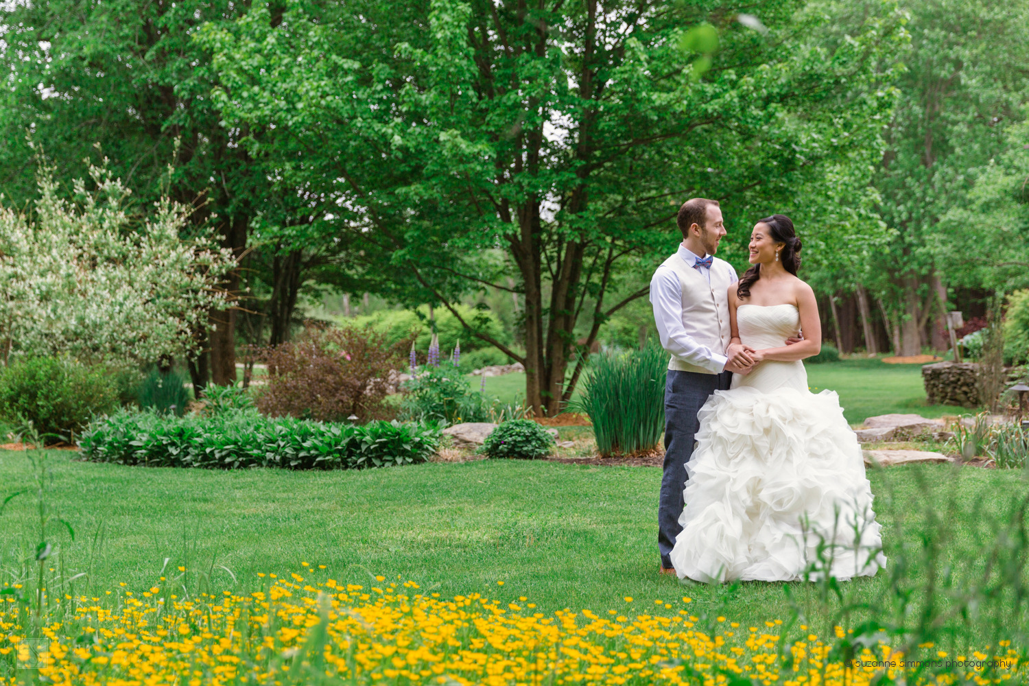 Springtime Wedding Portraits in York, Maine