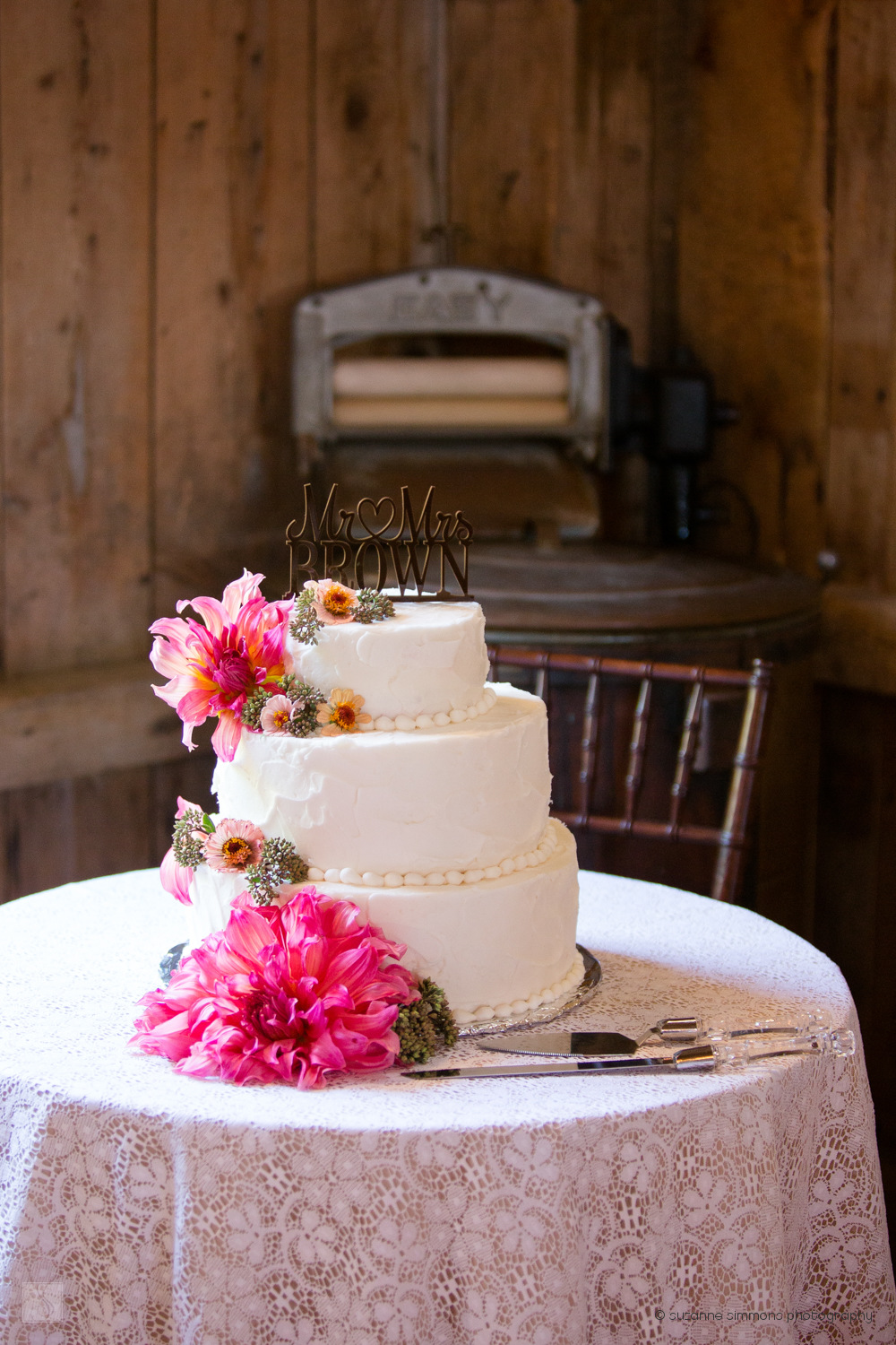 Wedding Cake at Flanagan Farm