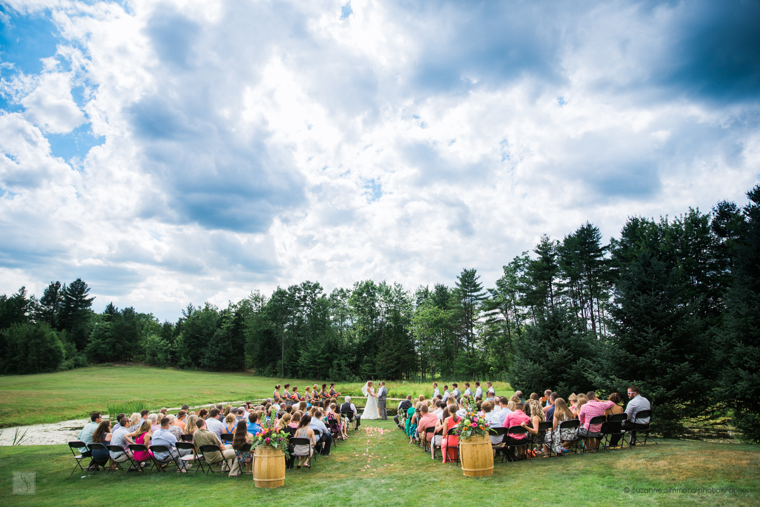 William Allen Farm Wedding Ceremony