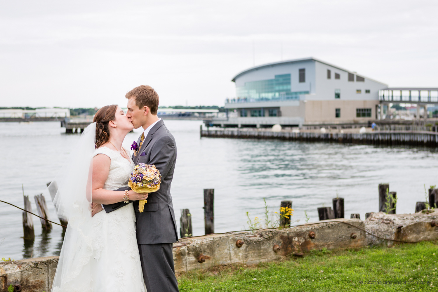 Wedding Portraits at the Ocean Gateway
