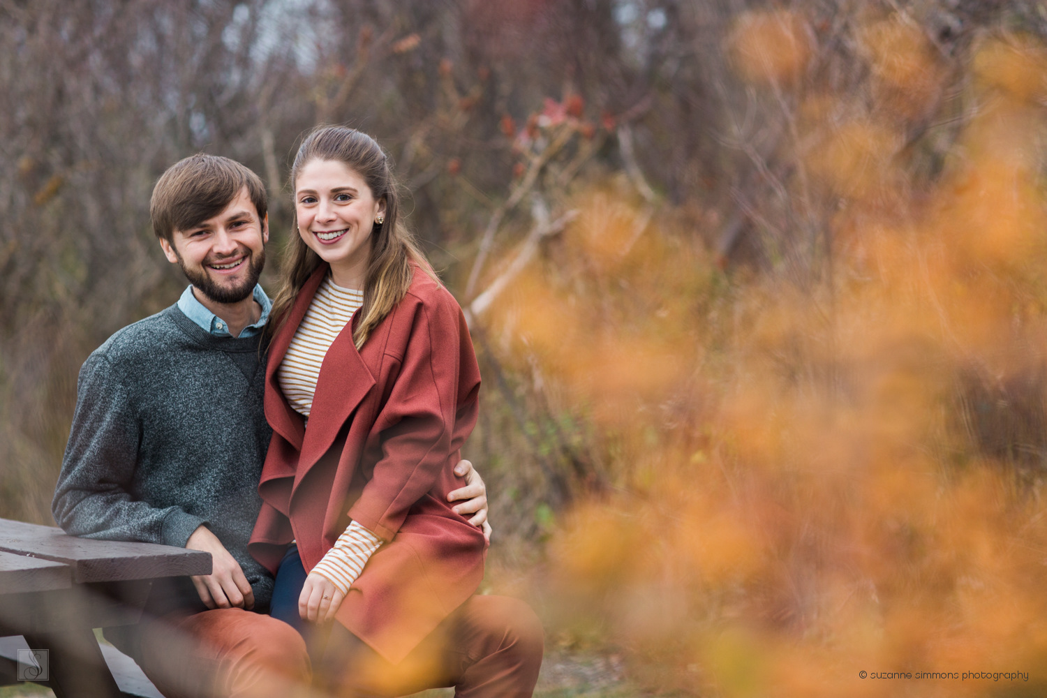 Fall Engagement Portraits