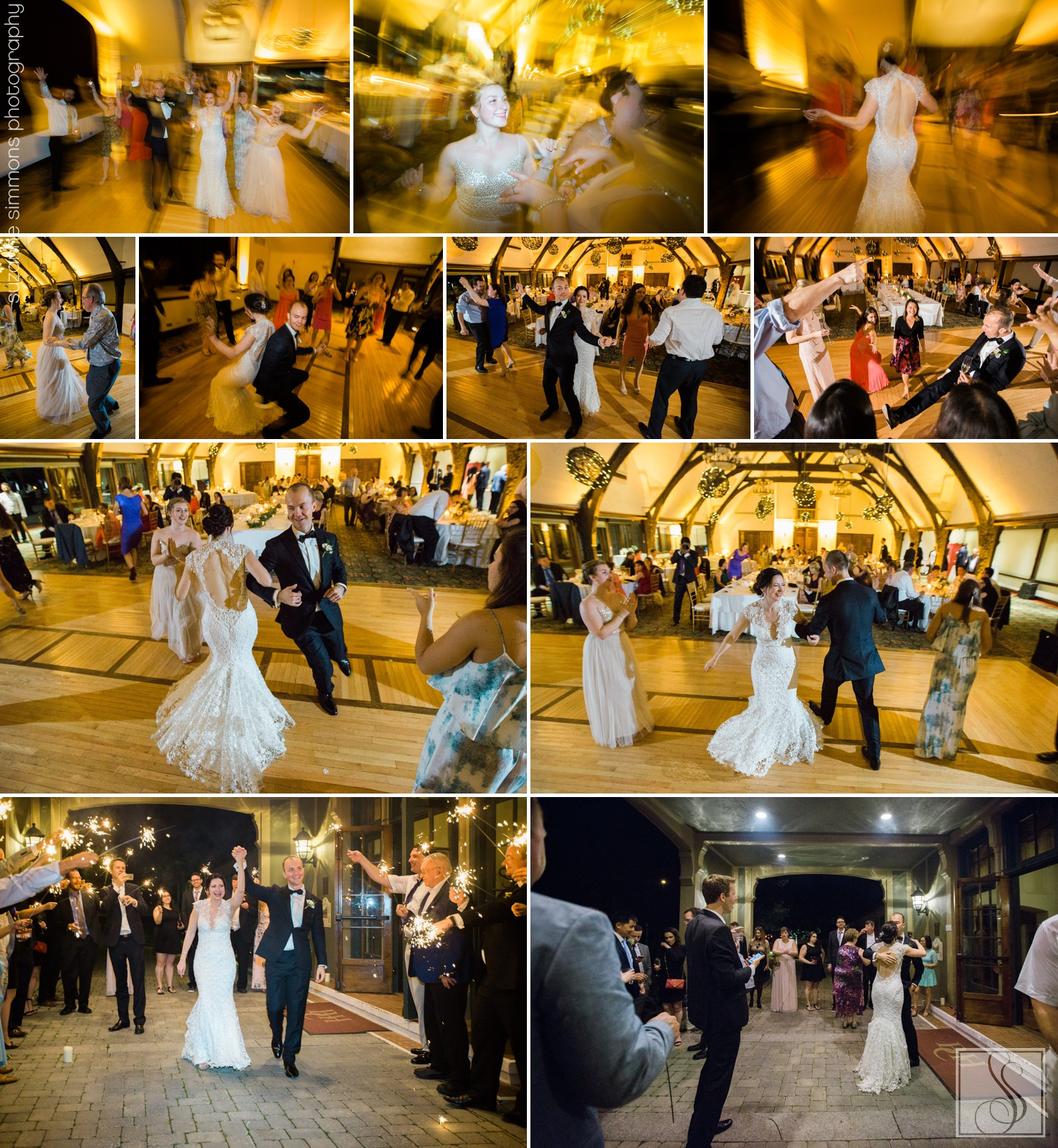 Maine wedding reception at the Bar Harbor Club