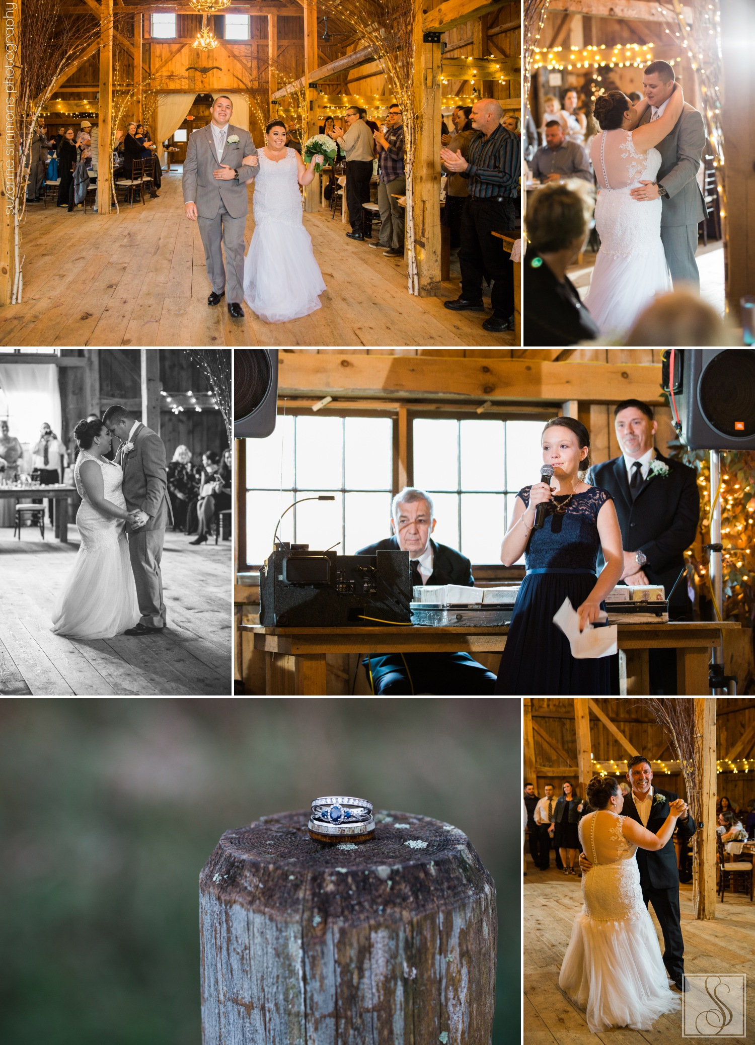 Wedding reception at The Hitching Post