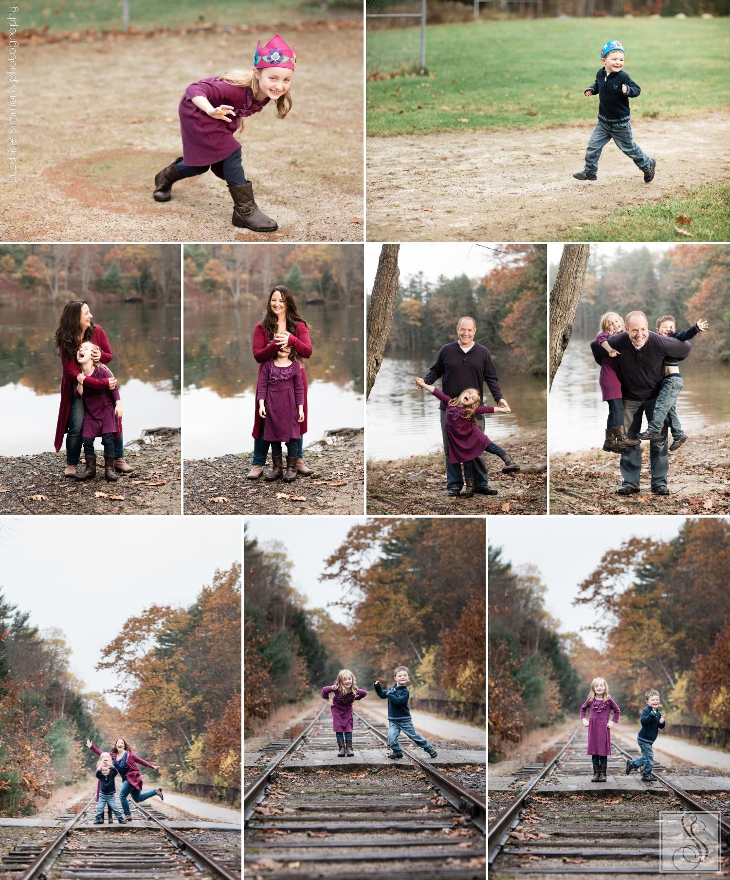 Shaw Park Gorham Maine Family Portraits