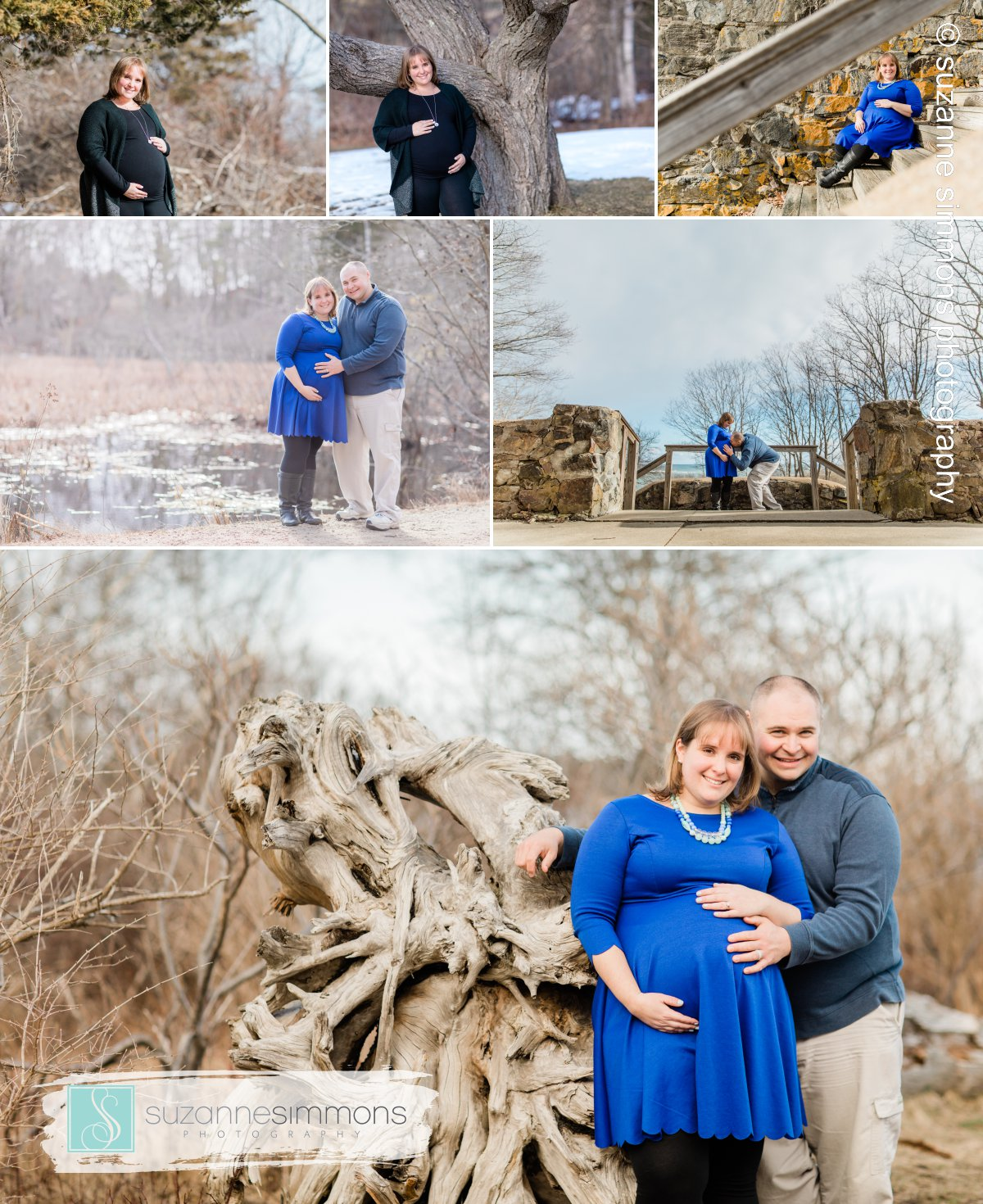 Fort Foster Kittery Maine Maternity Session