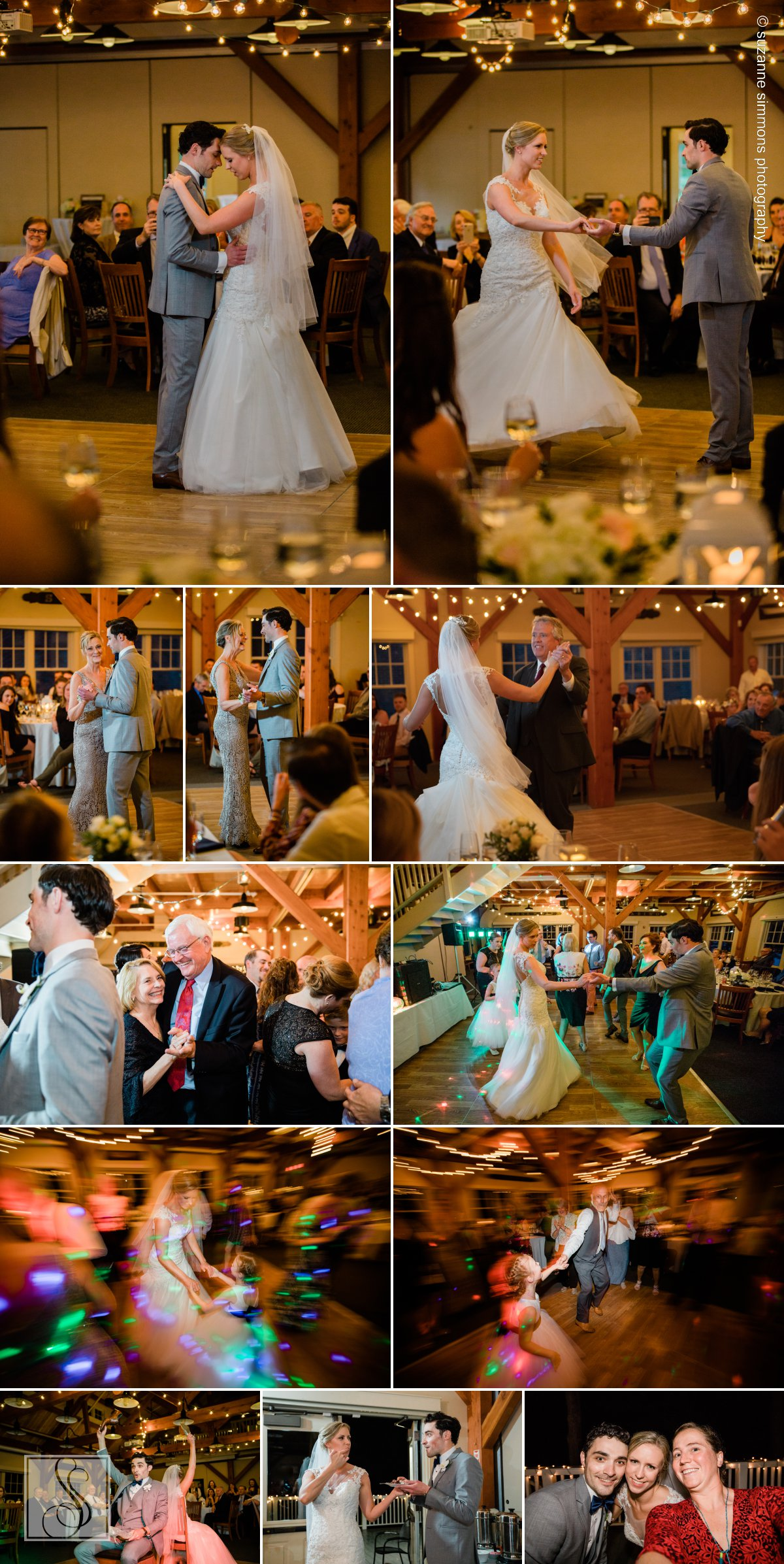 Wedding reception at Maine Maritime Museum