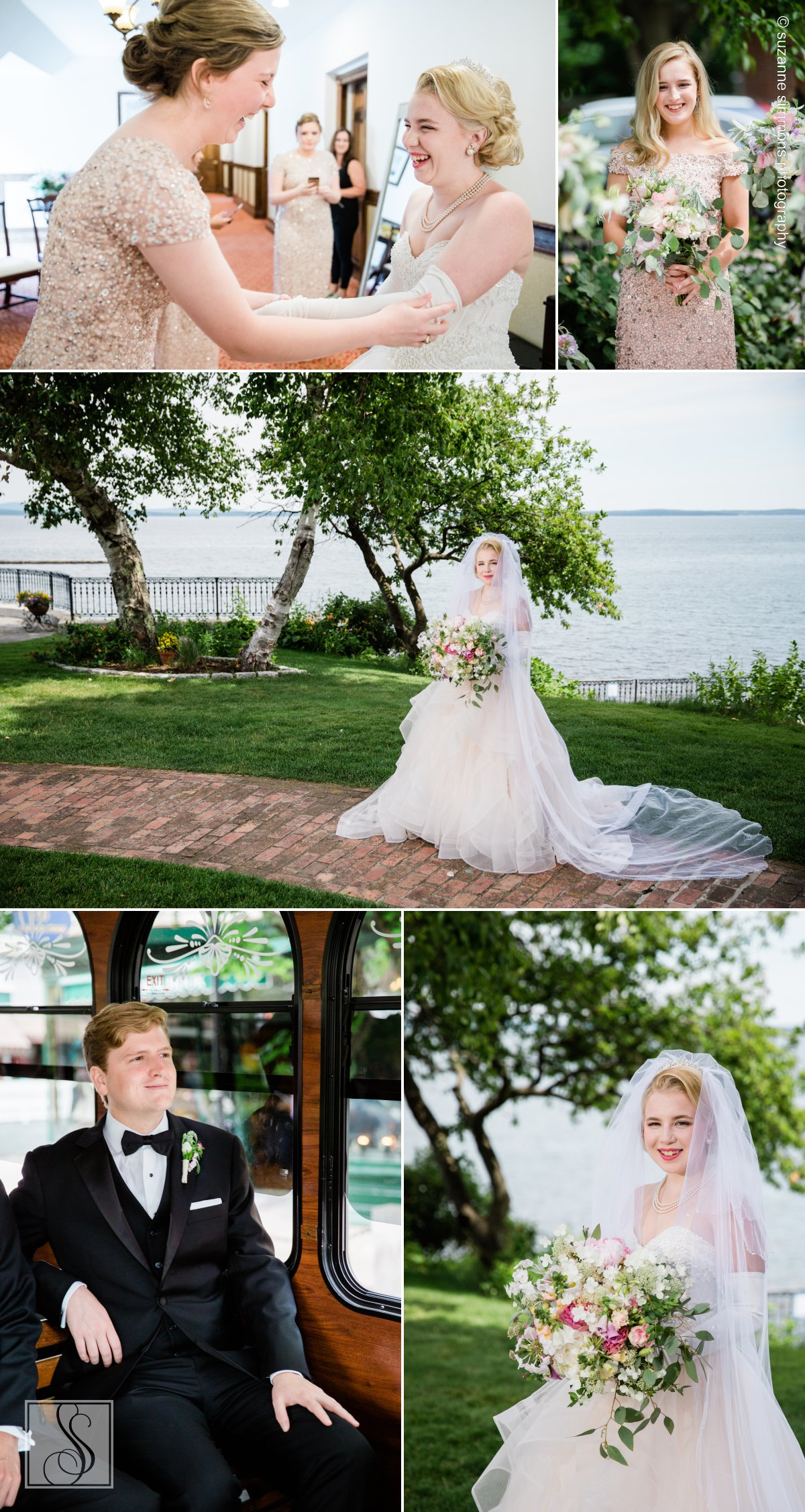 Bar Harbor Regency Stone House Wedding