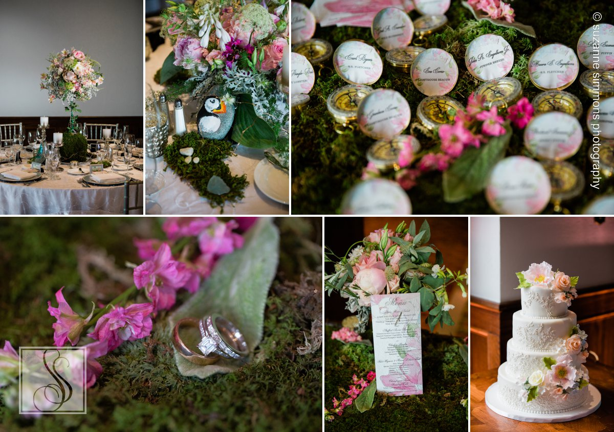 Wedding Details at the Bar Harbor Regency Stone House