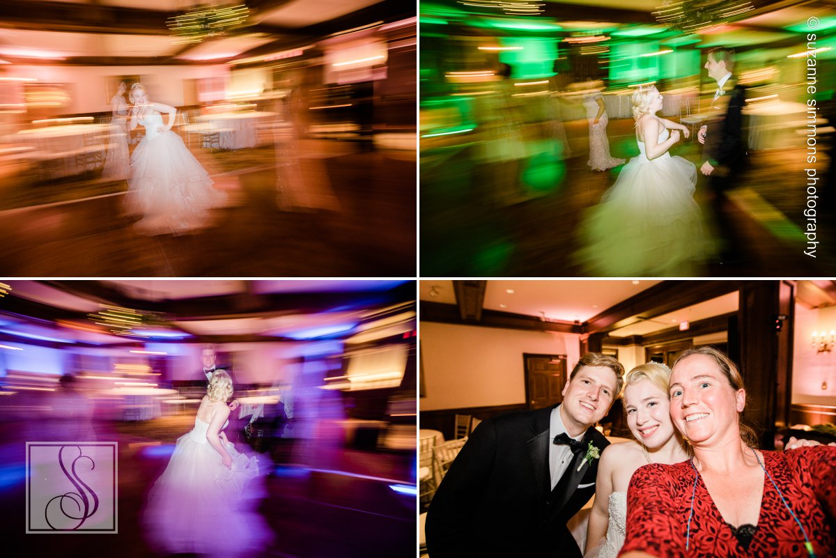 Wedding reception at Bar Harbor Regency Stone House