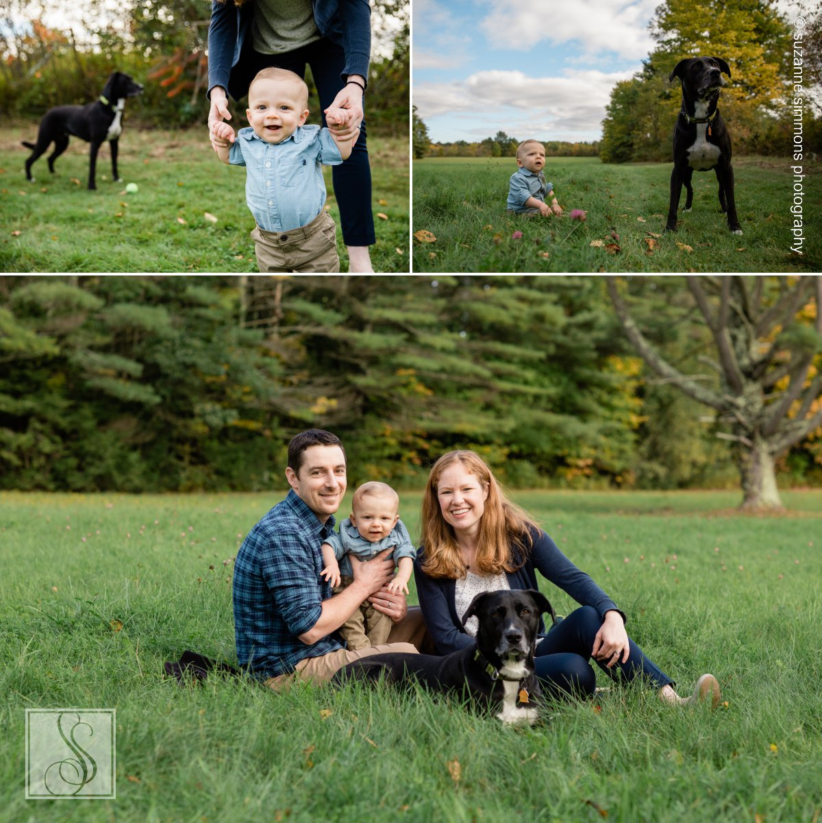 Family Portraits in North Yarmouth, Maine