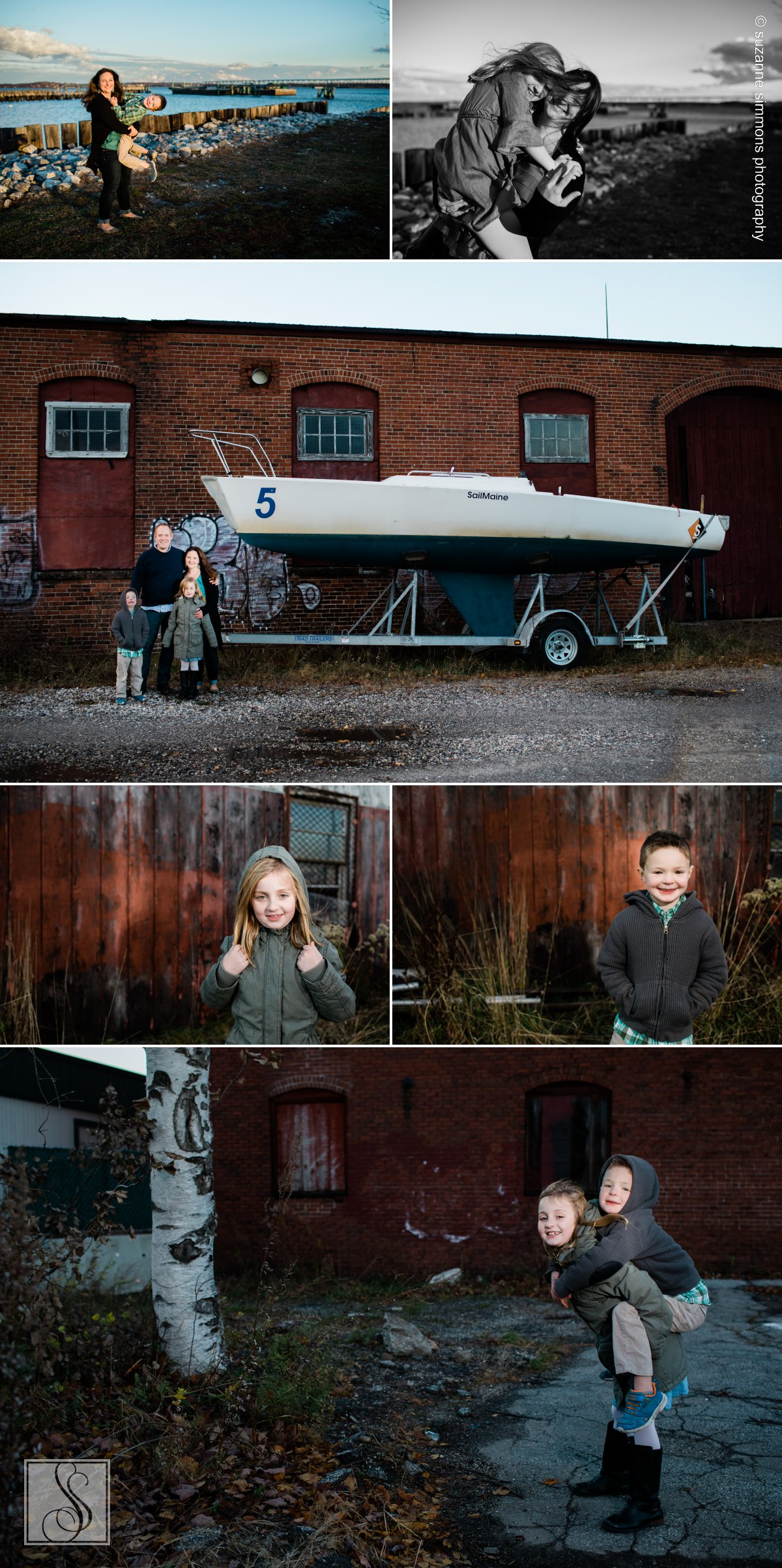 Portland Maine Family Portraits