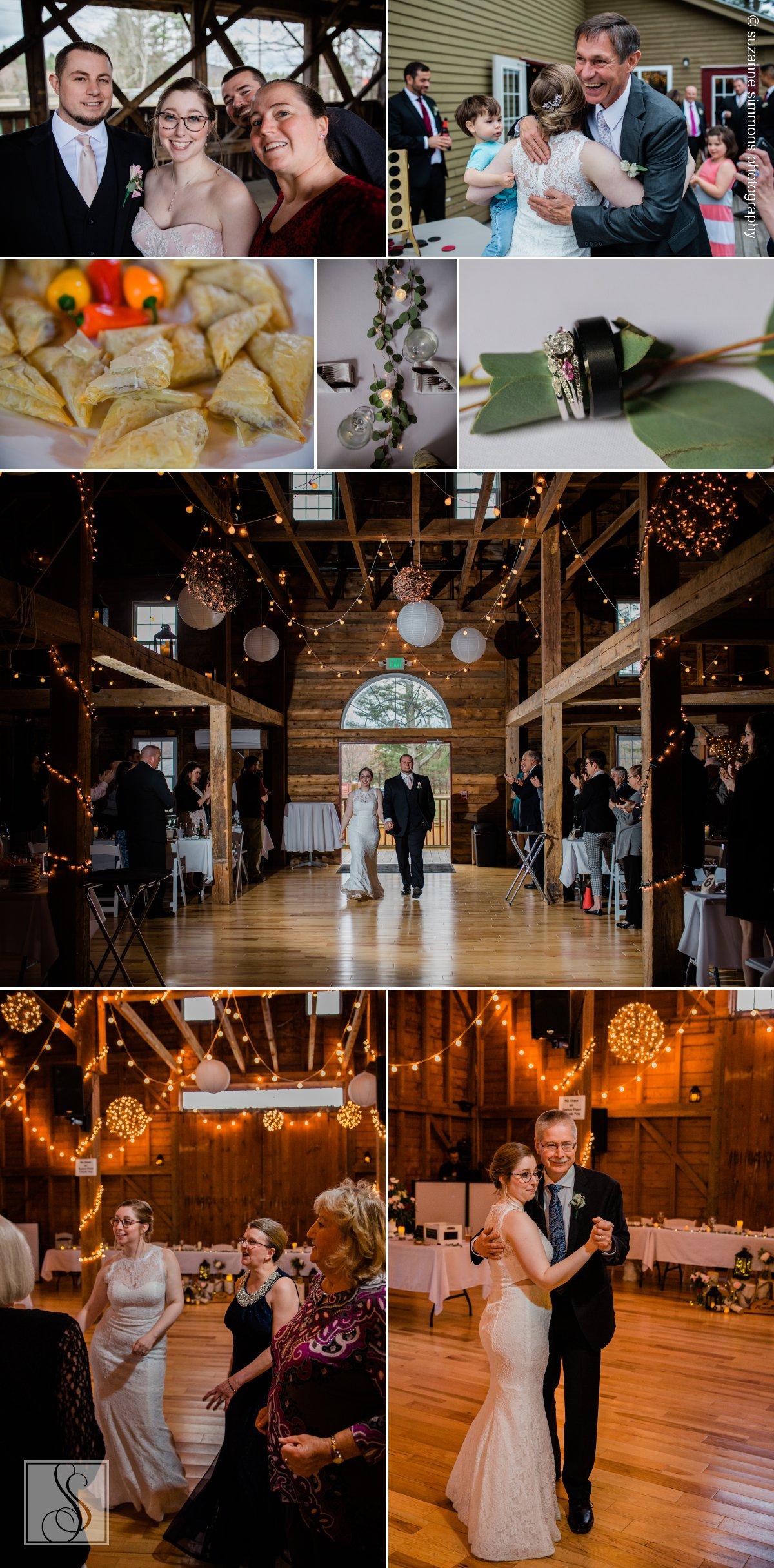 Wedding reception at the 1888 Wedding Barn