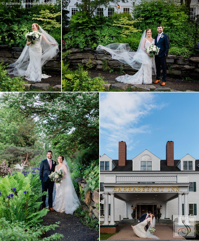 Abe & Elizabeth's Harraseeket Inn wedding in Freeport, Maine