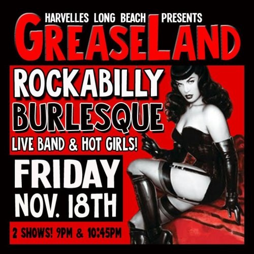 rockabilly burlesque show, 11-18-16